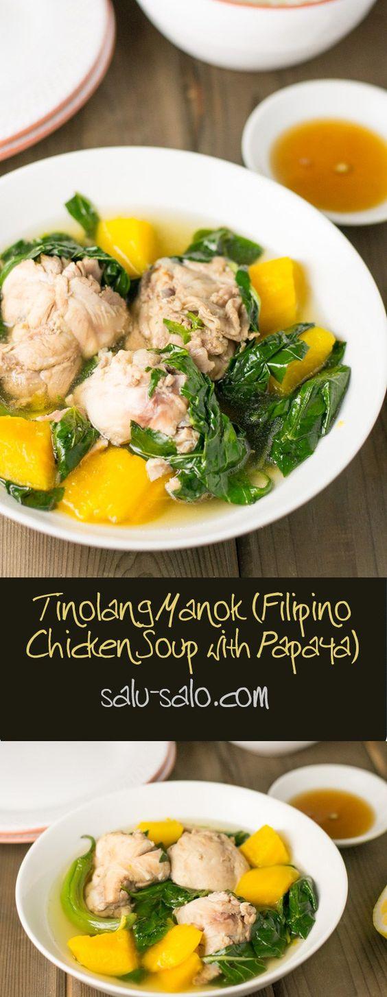 Adobe chicken chowder recipe