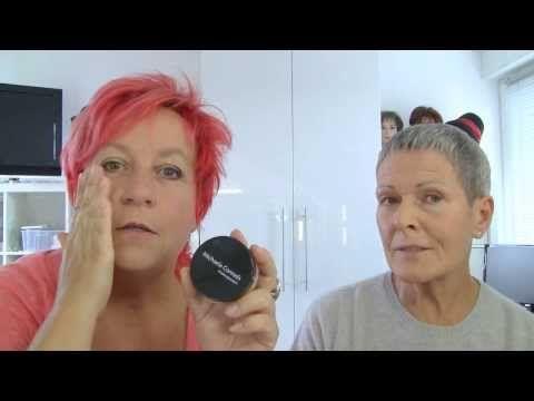 Der böse Glanz Lidschatten, Augen Make-up ü50 - YouTube
