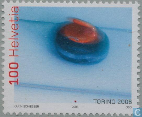 Timbres-poste - Suisse - Jeux olympiques de Torino-