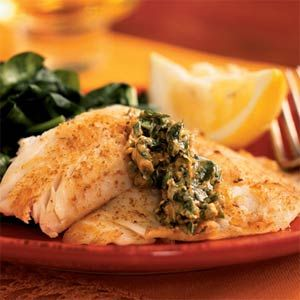Skillet Fillets with Cilantro Butter Recipe
