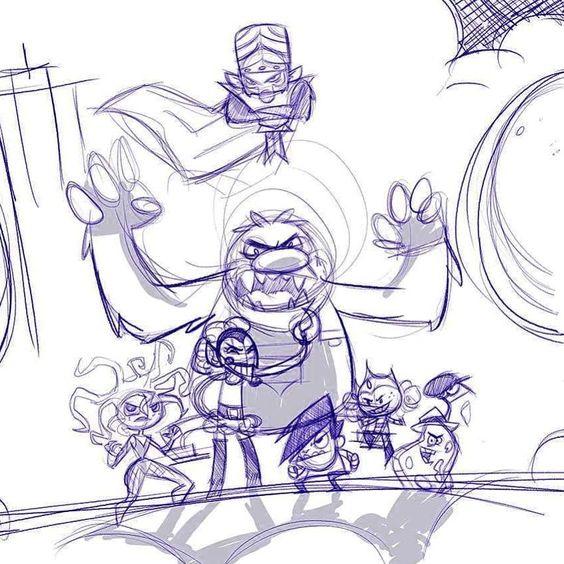 regram @nin10drew Starting on a #Powerpuffgirls #sketch.  #cartoonnetwork