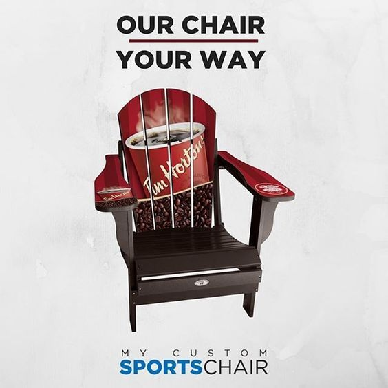 Awesome My Custom Sports Chair Tim Hortons Chair Chair Outdoor Pdpeps Interior Chair Design Pdpepsorg