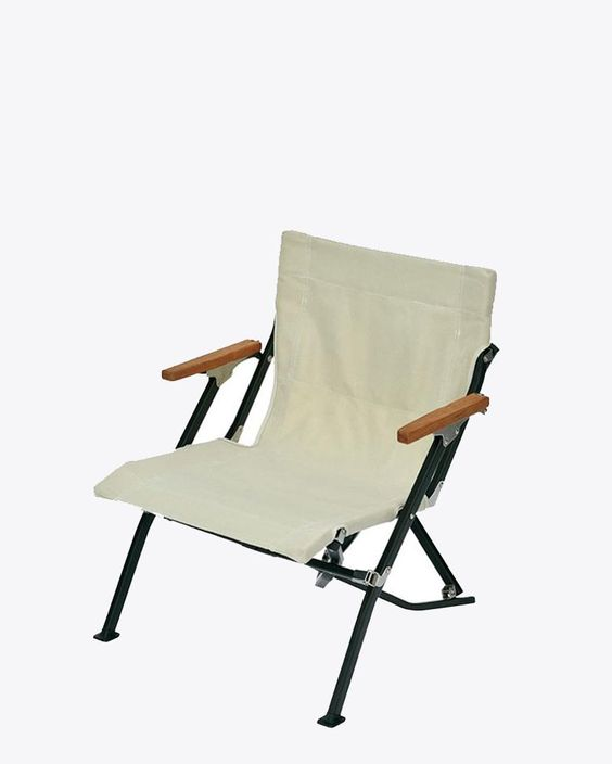 Luxury Low Beach Chair – Snow Peak