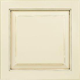 ... 14.5-in x 14.56-in Hazelnut Glaze Maple Square Cabinet Sample