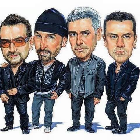 Caricature U2