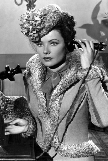 Gene Tierney - Heaven Can Wait - 1943: