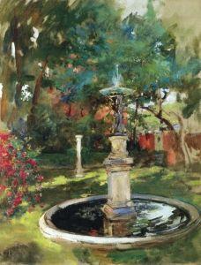 The Fountain - Sir James Jebusa Shannon - The Athenaeum