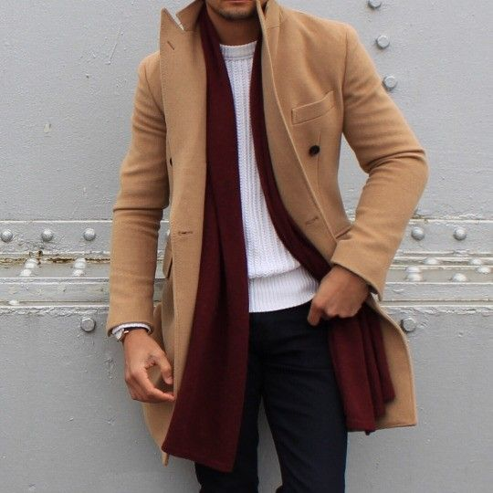 Scarf and jacket vibe