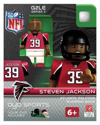 #39 Steven Jackson Atlanta Falcons Running Back-Limited Edition OYO minifigure