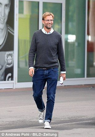 Liverpool are expected to unveil Jurgen Klopp (pictured) as Brendan Rodgers' successor on ...