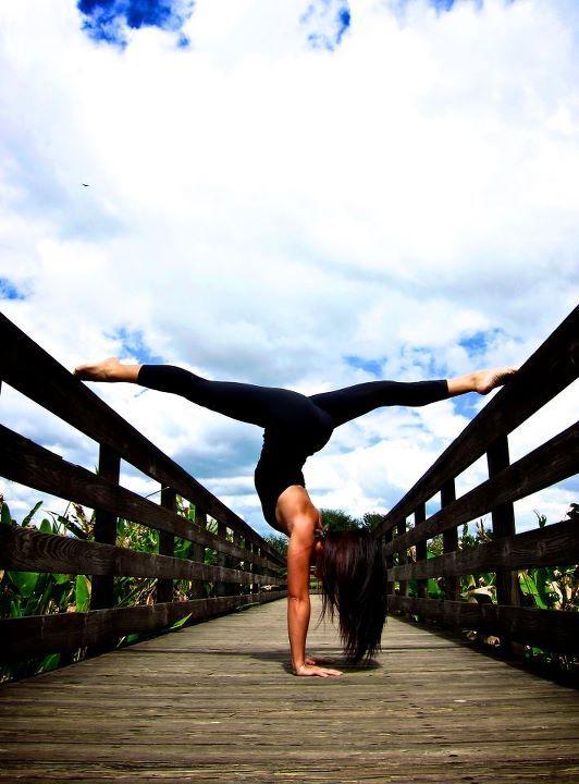 handstand split