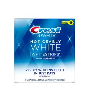 CREST | 3D White Noticeably White Whitestrips Dental Whitening Kit