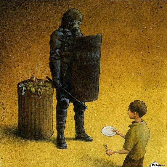 Modern Toplum Eleştirileriyle Paylaşım Rekorları Kıran Sanatçı Pawel Kuczynski'den 40 Yeni İllüstrasyon: