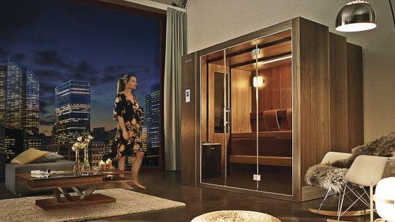 Expanding sauna to save space!