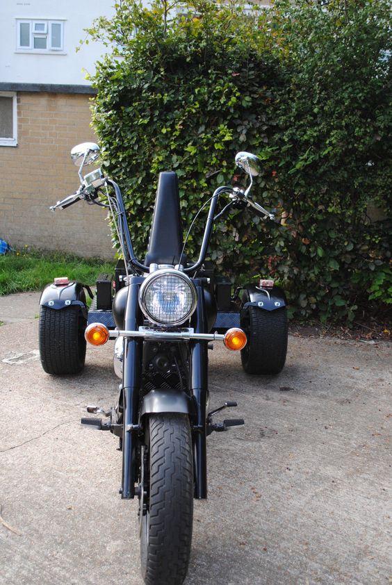 2001 Yamaha Dragstar XVS650 Trike