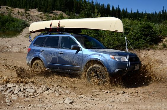 Subaru Forester Off-Road Fun