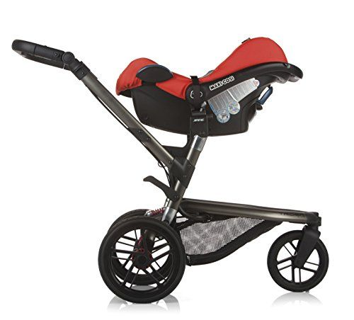 &&  Trider All-Terrain Stroller   FREE Infant Seat Adapter Included   Azzure