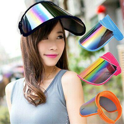 Sun Visor For Full Face Head Shield Mask Solar Sunscreen Hat Visor Adjustable Cap
