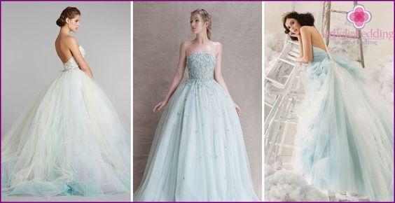 vestidos de boda de la turquesa 2015 - estilos populares, fotos