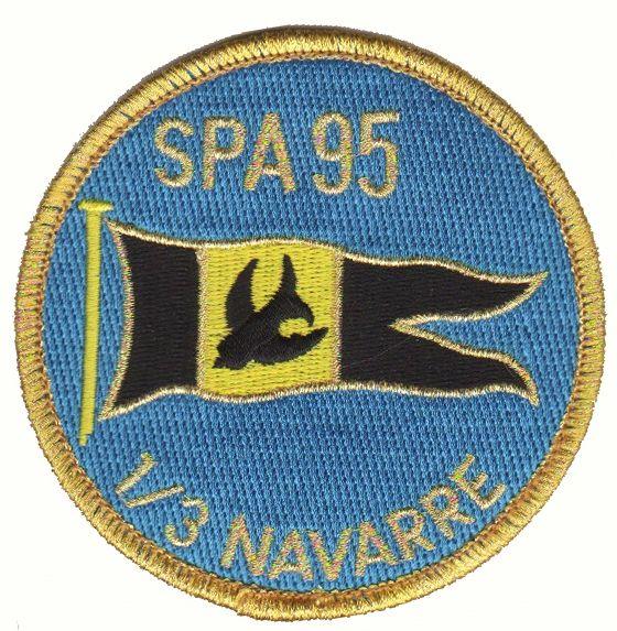 Escadrille Spa 95 E C 1 3 Navarre Armee De L Air Patch