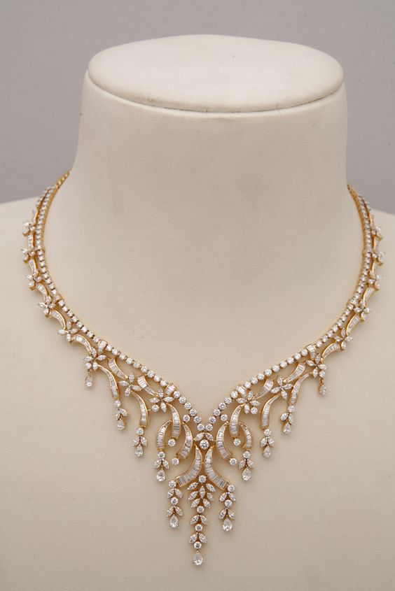 Indian Jewellery and Clothing: Diamond necklace collection from Tibarumals gems and jewellers #@Af's collection