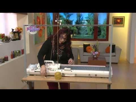 Mónica Astudillo - Bienvenidas en HD - Hace puntillas tejidas a máquina.