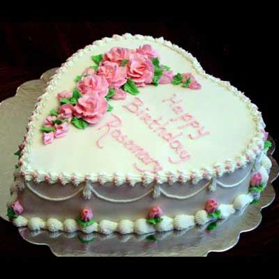 Very old fashioned birthday cake