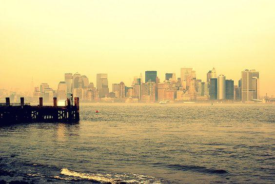 Manhattan desde Liberty Island