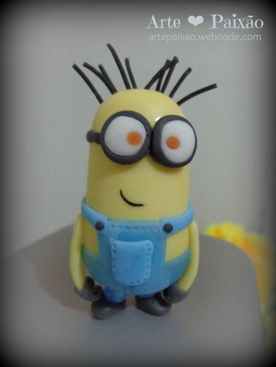 #Minion - Meu malvado favorito (#biscuit #porcelanafria)