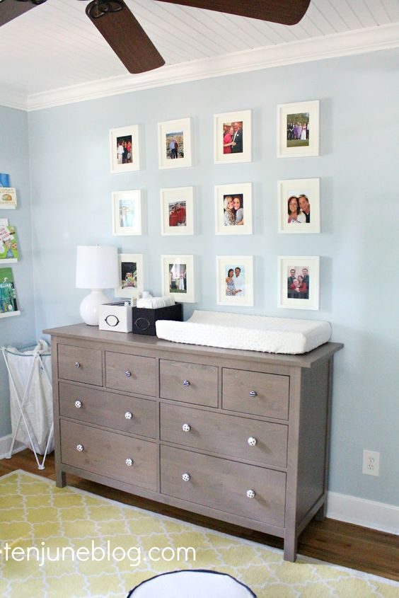 Our Little Baby Boy S Neutral Room: Sherwin-Williams Sleepy Blue (SW 6225) -- Ten June Blog