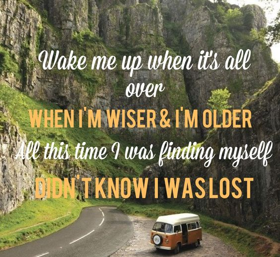 Avicii, Avicii lyrics and Songs on Pinterest Avicii Wake Me Up Quotes