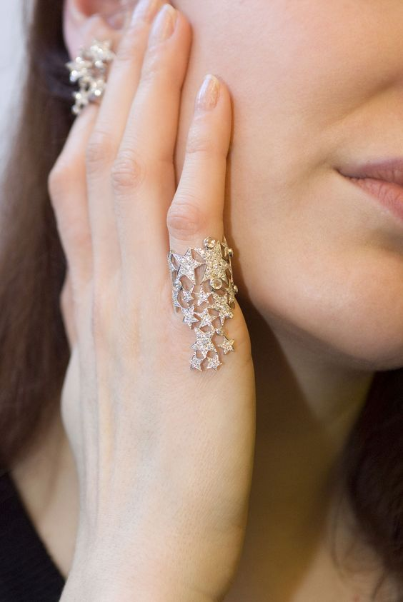 Pamela Hastry, the designer and the founder of Morphée Joaillerie, speaks to Katerina Perez about her jewellery. Make A Wish Ring & Earring. #jewellery #morphee #joaillerie #diamond: