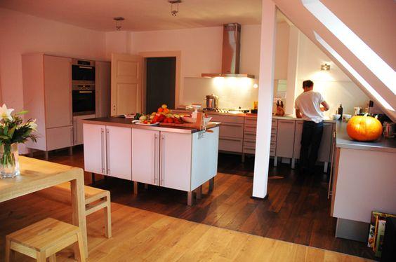 Old school, new kitchen