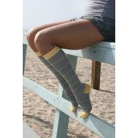 MARVY Striped Compression Socks 15-20 mmHg - http://bit.ly/1HhZCj0