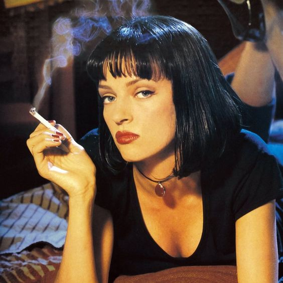 Mia Wallace (Uma Thurman ) Pulp Fiction