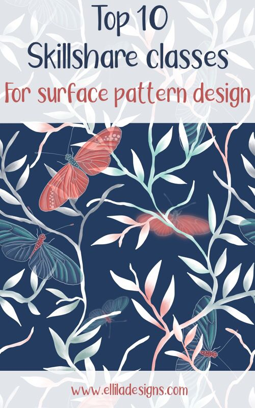 Skillshare Classes For Surface Pattern Design Top 10 Surface