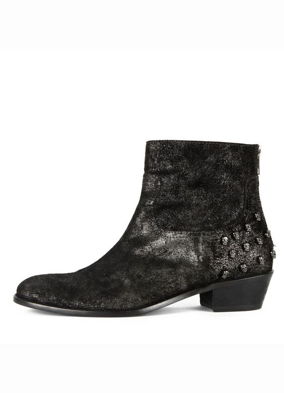 BOTTINES TEDDY DARK, noir, Zadig & Voltaire