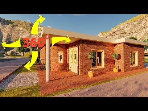 Casa En 360 Grados 3d Recorrido Virtual Youtube Recorrido Virtual 360 Grados Casas En 3d