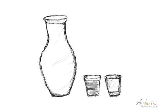 Seu copo está meio vazio ou meio cheio?