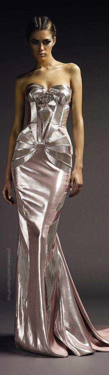 Versace atelier and art deco on pinterest - Pinterest couture deco ...