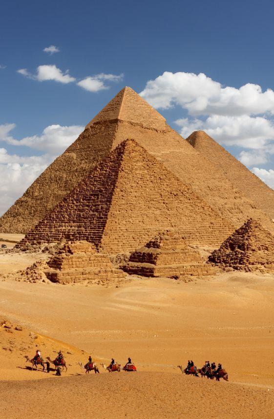 Pirámides de Gizeh - Giza - Egipto