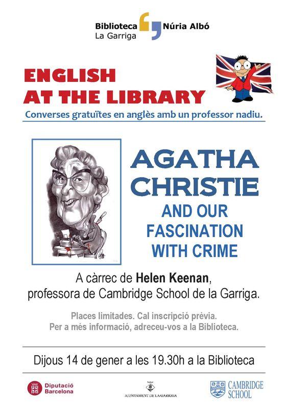 English at the library Biblioteca Núria Albó de #laGarriga www.lagarriga.cat