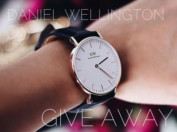 win daniel wellington watch