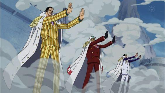 Admirals Use Haki