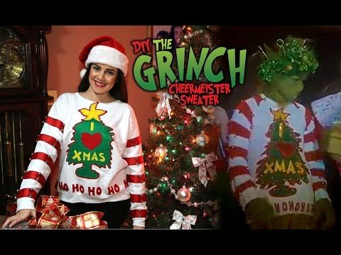 grinch christmas sweater from movie friday