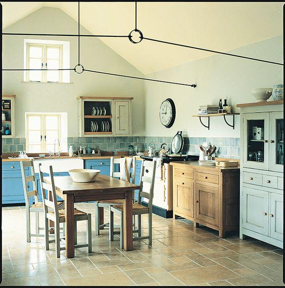 freestanding Bastide kitchen range from Fired Earth