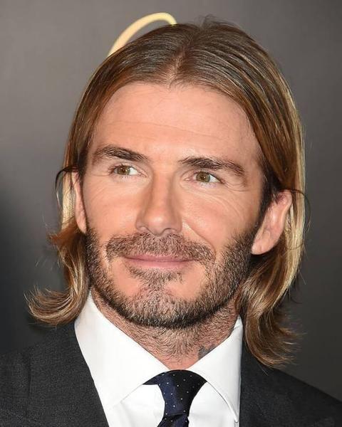 David Beckham Long Hairstyle David Beckham Haircut Beckham Haircut David Beckham Hairstyle