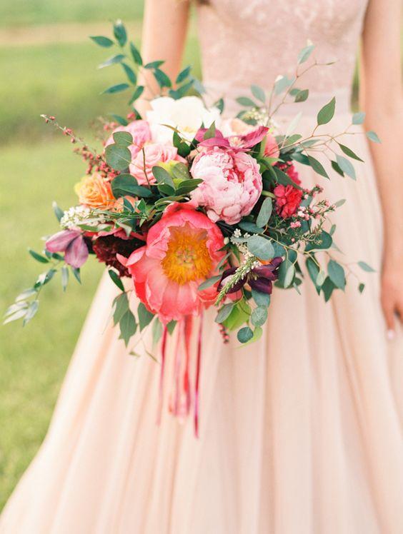 Blush Pink Orchard Wedding Inspiration | Wedding Sparrow