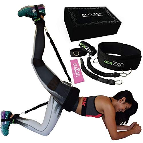 Adjustable Hip Resistance Band Loop Circle Gym Yoga Fitness Exercise Equipments