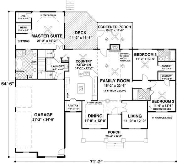 Country Home Plans Salem S Lot Laundry Kid Theater Home Design